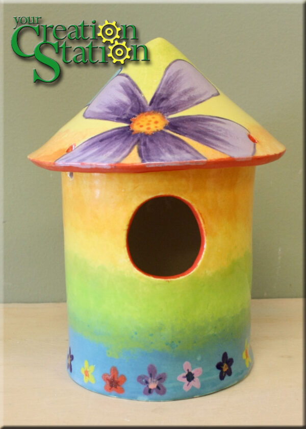 Make and Paint Birdhouse