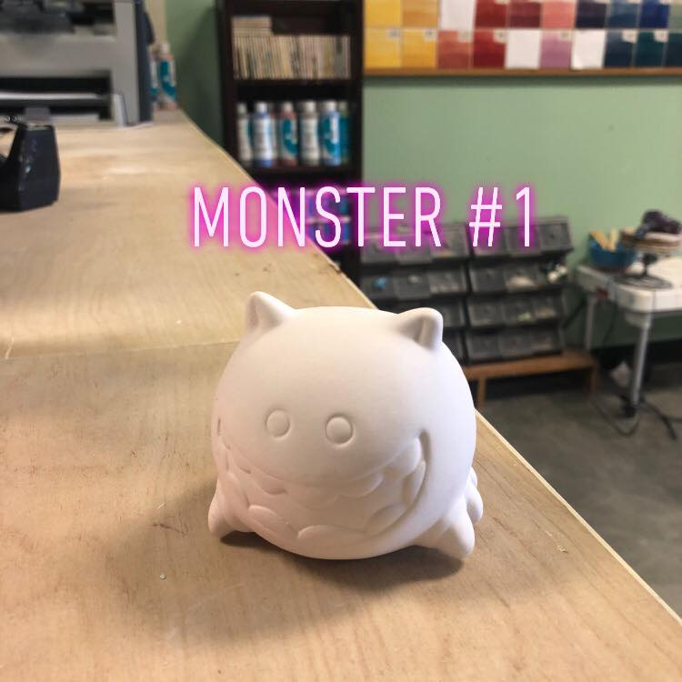 Story Time Monster #1