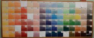 Underglaze Color Chart