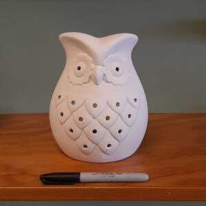 Owl Votive Lantern