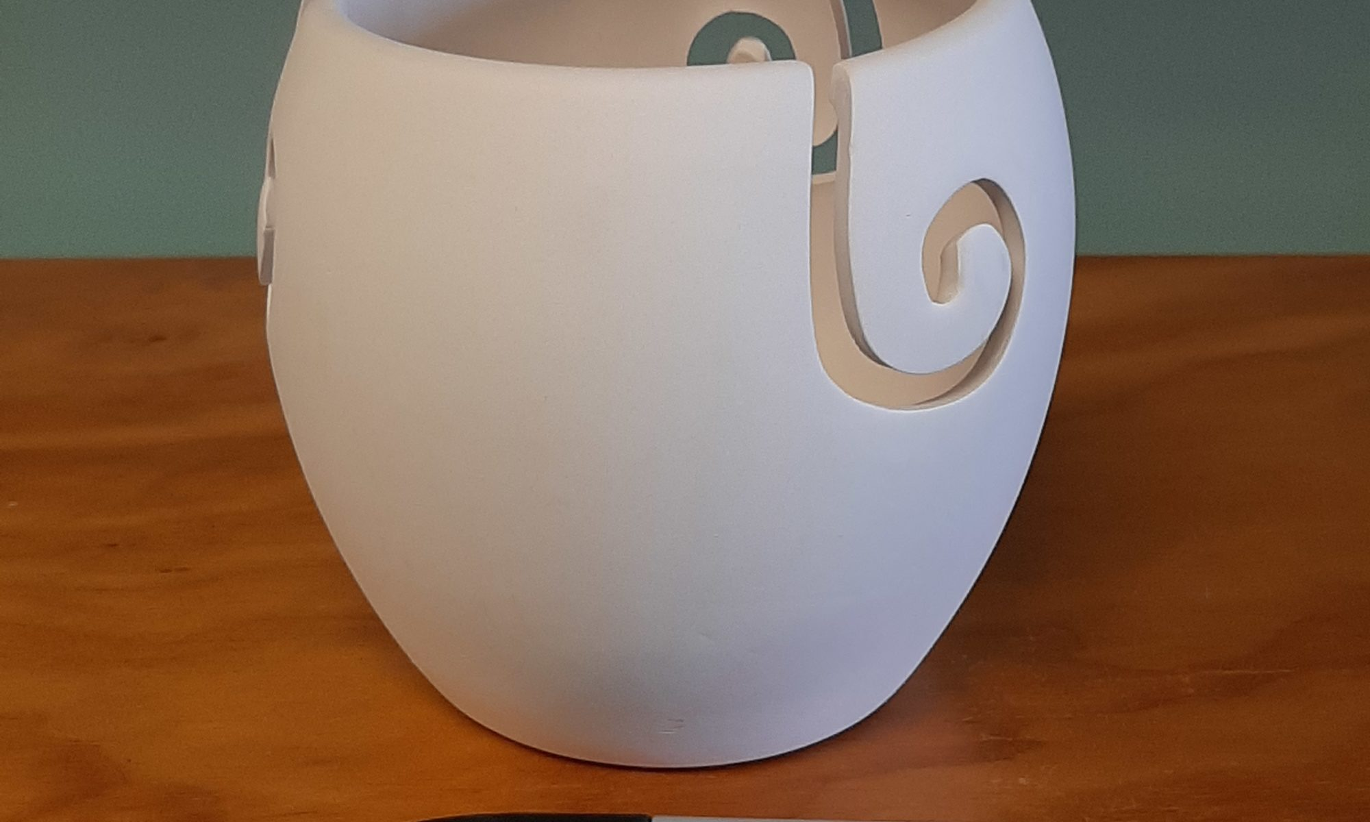 Tall Yarn Bowl
