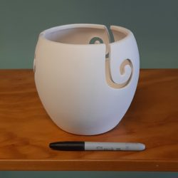 Tall Yarn Bowl
