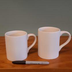 12 and 16 oz Mugs