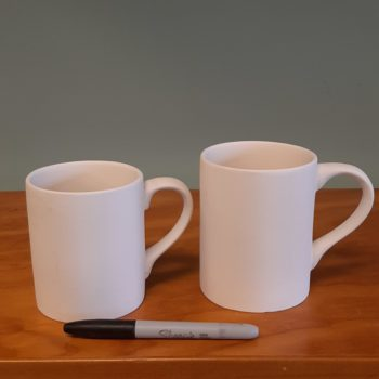 12 and 16 oz Mugs