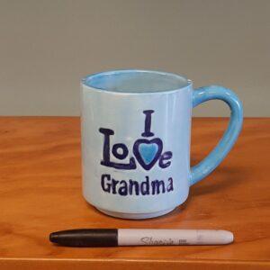 I Love Grandma Mug