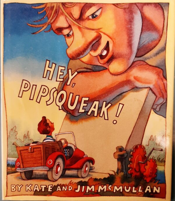 Book Cover - Hey Pipsqueak!