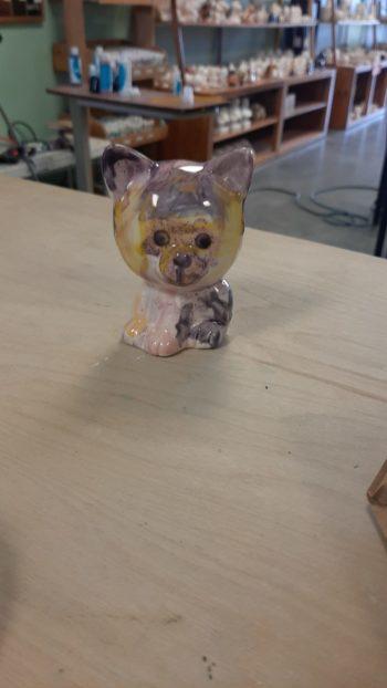 Tiny Tot Cat Painted