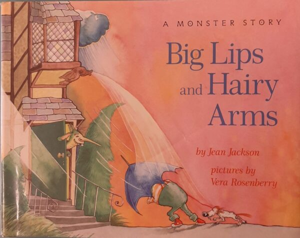 Book Cover - Big Lips and Hairy Arms