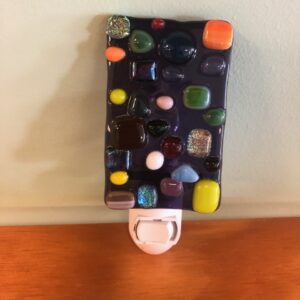 Fused Glass Night Light