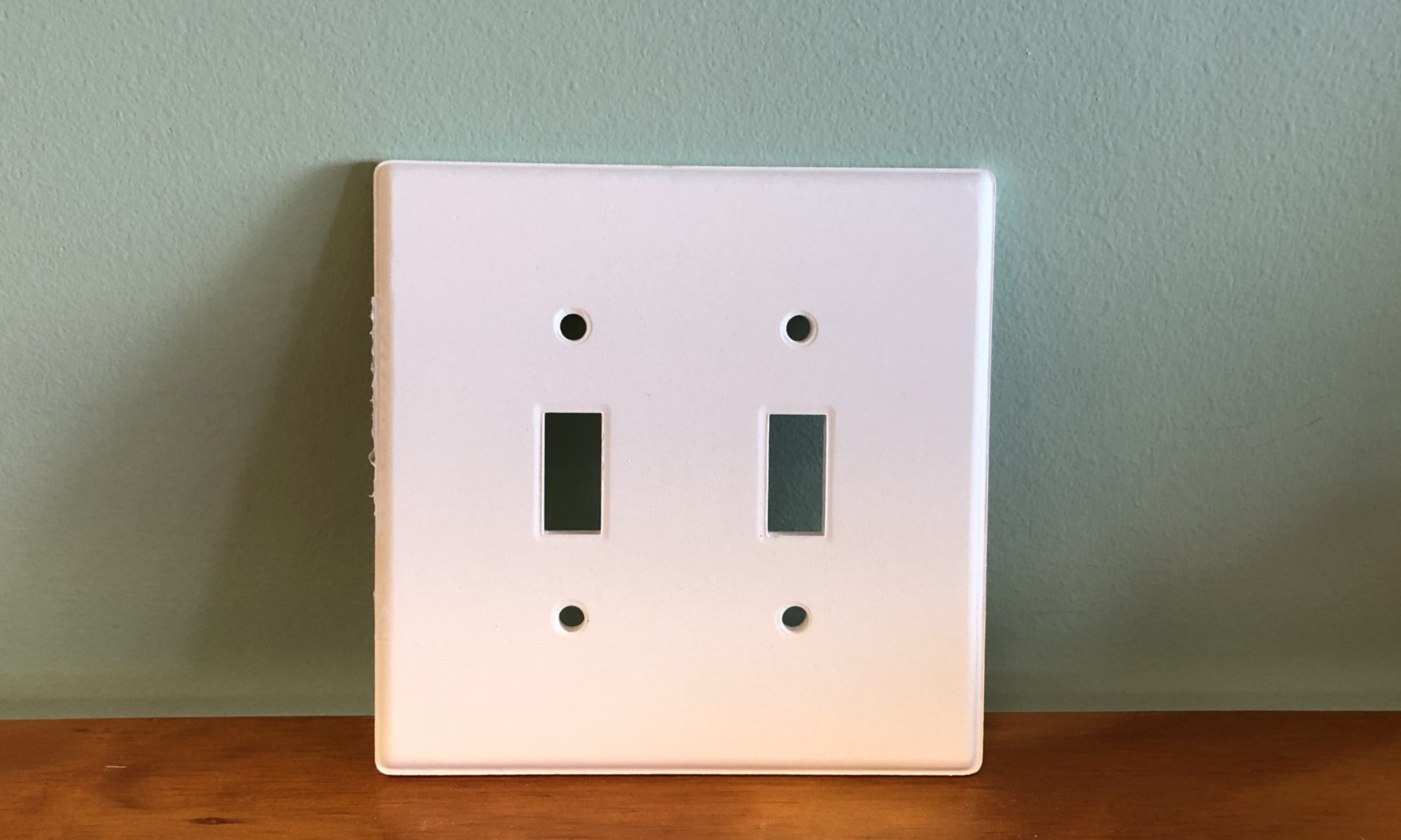 Two Gang Switchplate