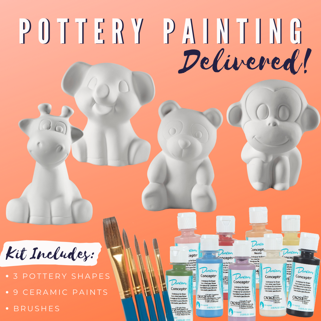 Party Animal Pottery Painting Kit