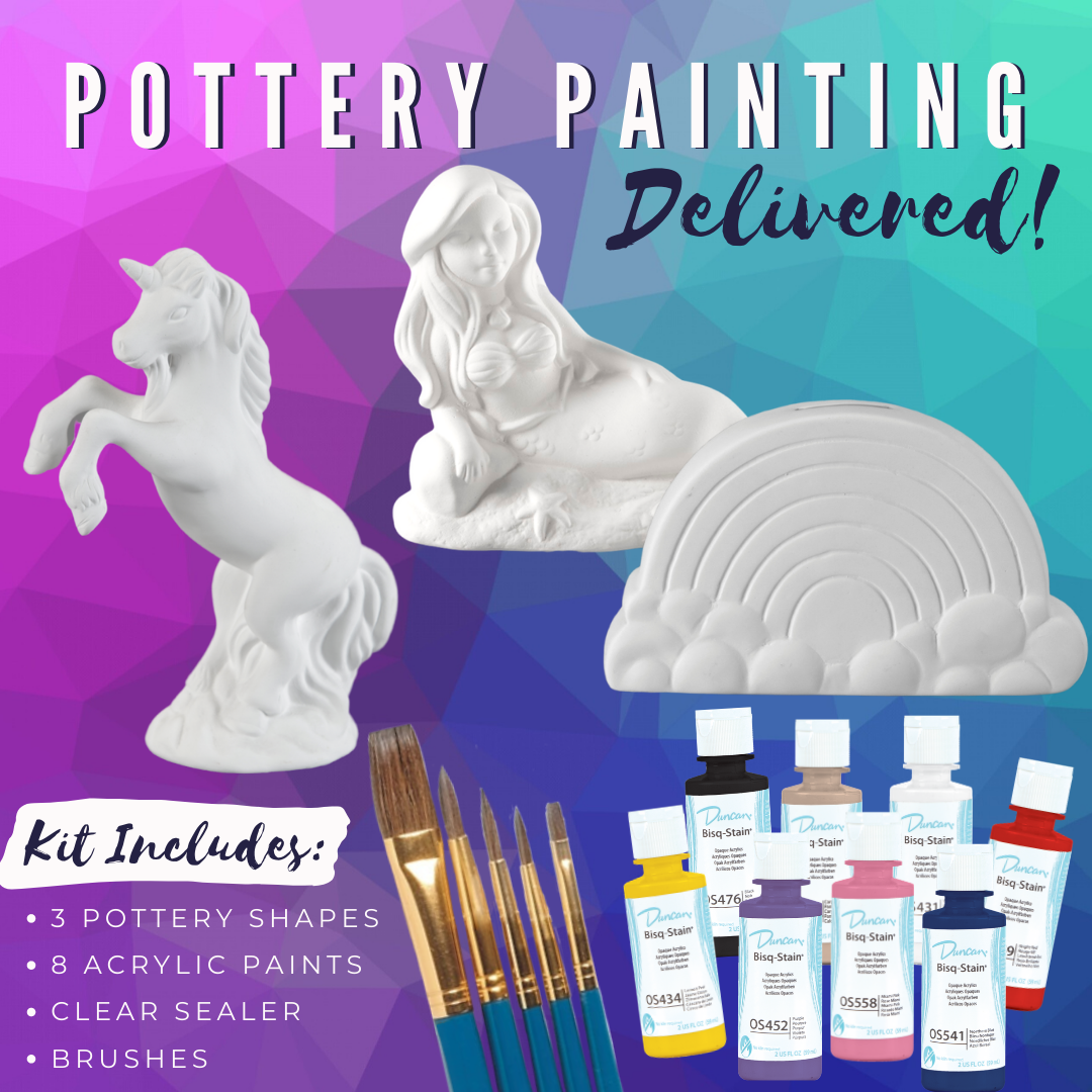 Magical Acrylic Pottery Kit