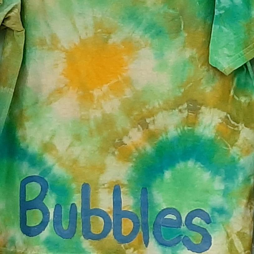 Bubbles Tie Dye Design