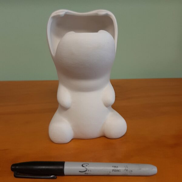Hungry Hippo Pencil Holder