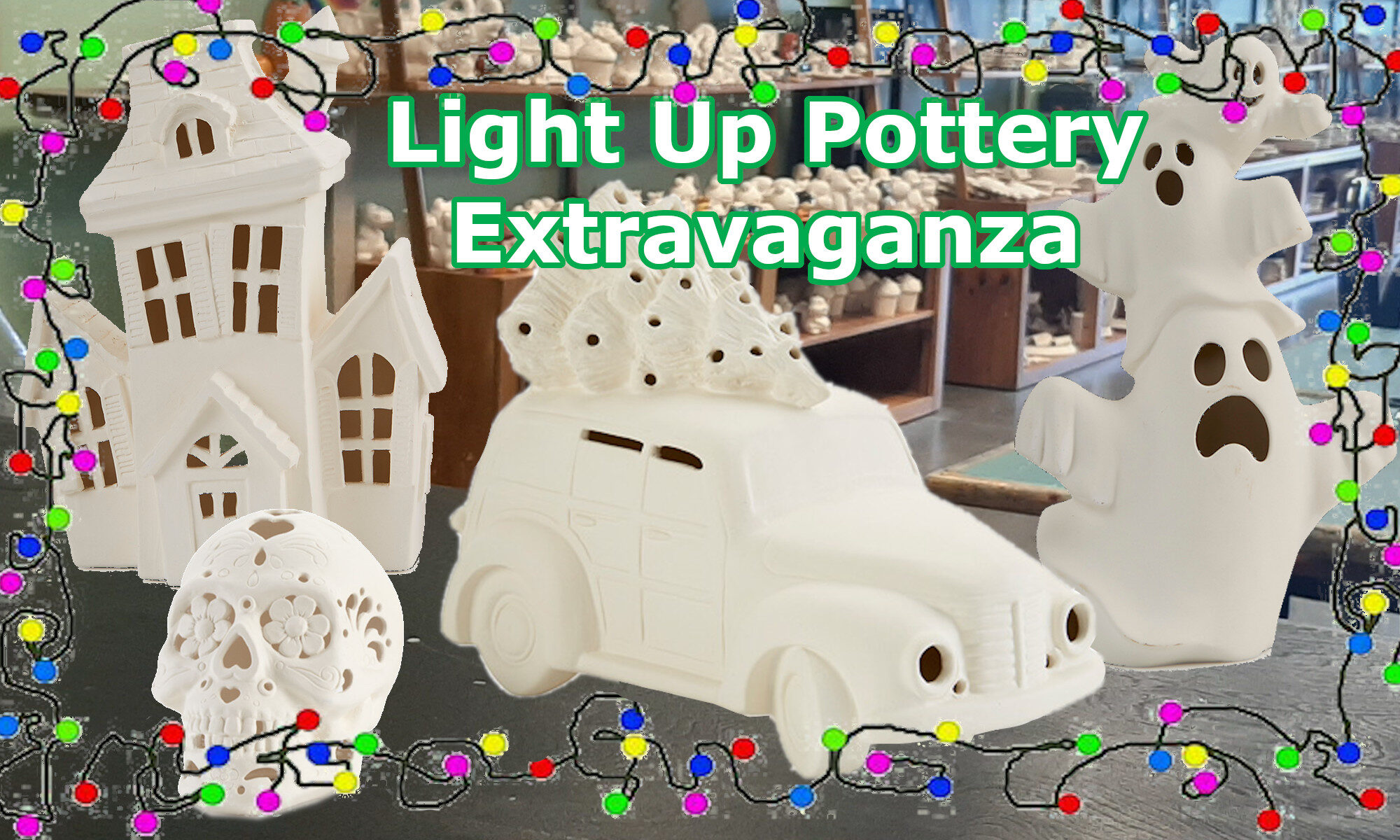 Light Up Pottery Extravaganza