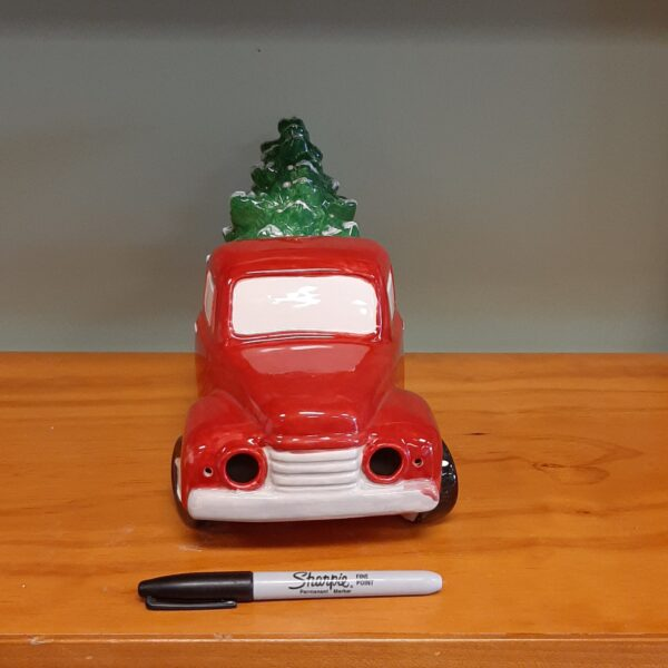 Vintage Truck with Tree - Painted