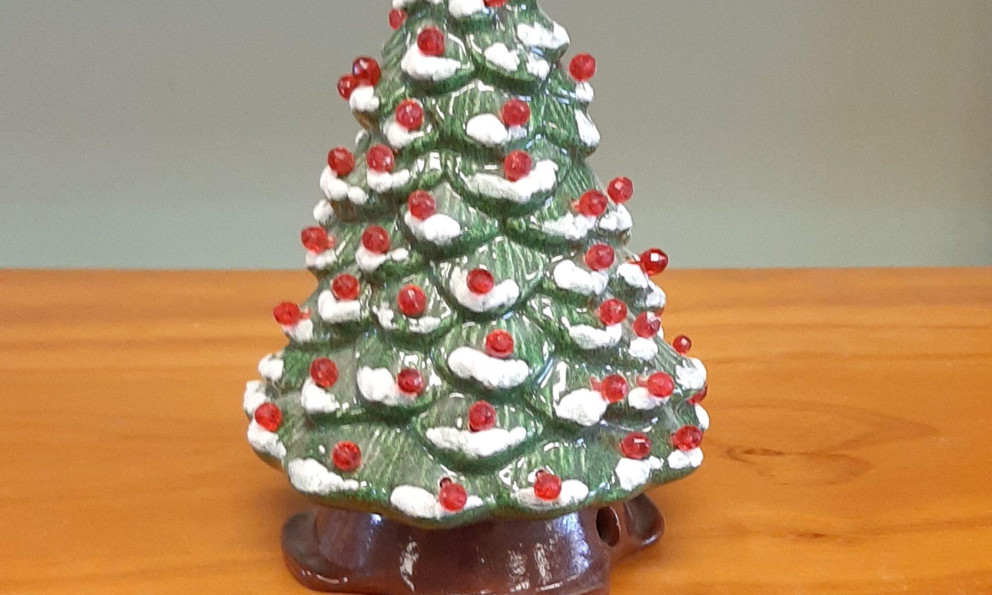 Lighted Christmas Tree Small