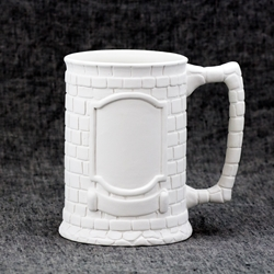 Crested Beer Stein