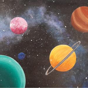 Galaxy Canvas Design