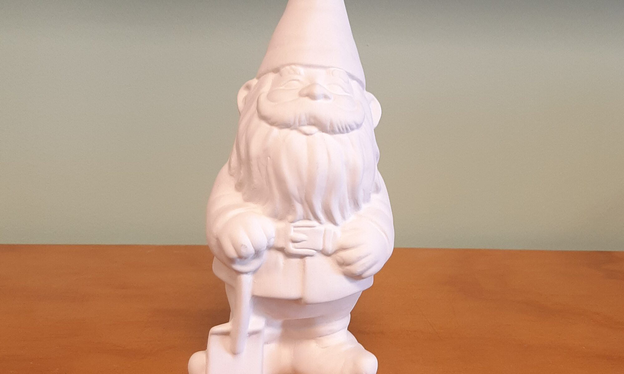 Gnome with Shovel