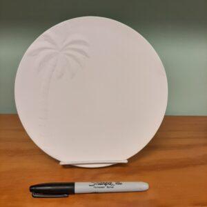Palm Tree Plate