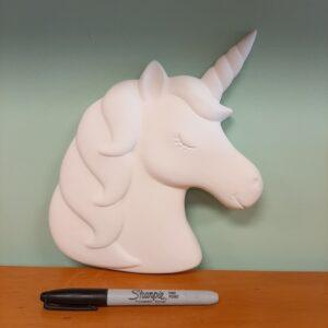 Stella the Unicorn Plaque