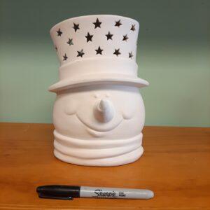 Snowman Head Light Up