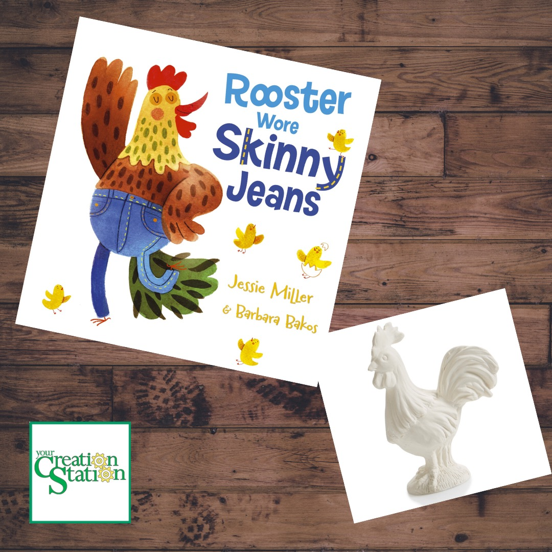 Rooster Wears Skinny Jeans